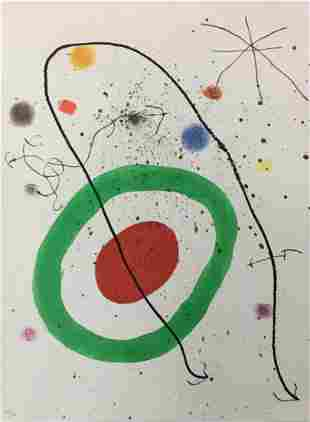 Joan Miro - Untitled