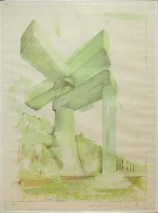 Claes Oldenburg - Lake Union Seattle Wash