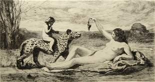 Jean-Baptiste-Camille Corot - La Chasse