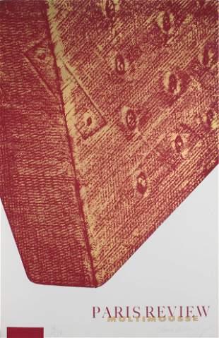 Claes Oldenburg - Corner of a Mattress (Paris Review:
