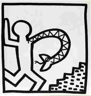 Keith Haring - Untitled (Man with Snake Arm)