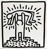 Keith Haring - Untitled (Holding Up)