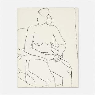 Richard Diebenkorn - Nude