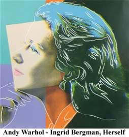 Andy Warhol - Ingrid Bergman Herself FS II.313