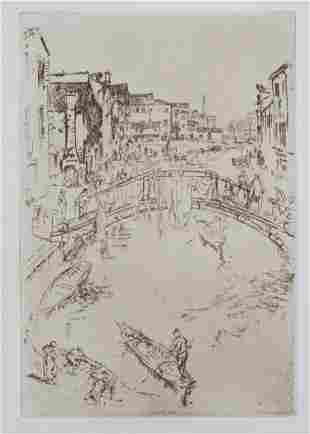 James McNeill Whistler - The Bridge