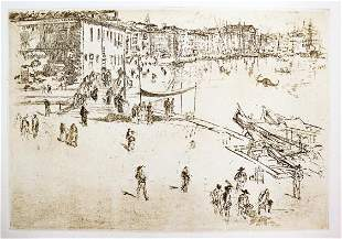James McNeill Whistler - The Riva