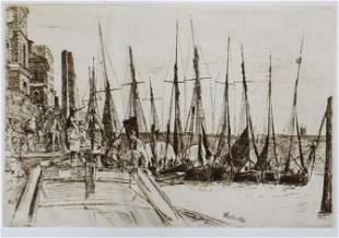 James McNeill Whistler - Billingsgate