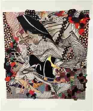 Frank Stella - Ambergris