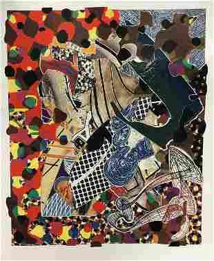 Frank Stella - The Affidavit