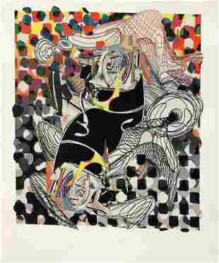 Frank Stella - The Battering Ram