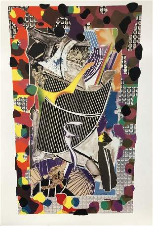Frank Stella - The Monsterous Picture of Whales
