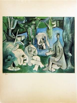 Pablo Picasso - Le Dejeuners