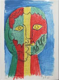 """Pablo Picasso - Untitled from """"Les Dejeuners"""""""