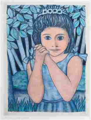 Pierre-Auguste Renoir - Petite Fillo (little Girl)