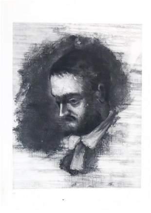 Paul Cezanne (after) - Portrait de zola