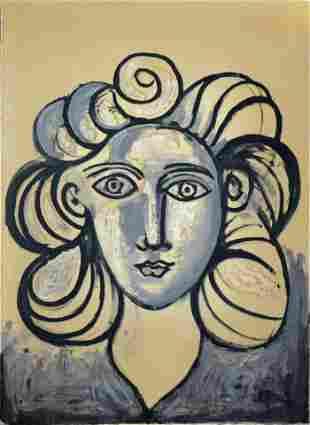 Pablo Picasso - Portrait de Francoise Gilot