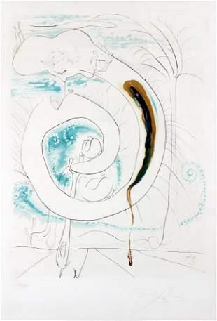 Salvador Dali - The Visceral Circle of the Cosmos