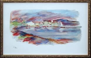 Pierre-Auguste Renoir - Les Martigues (PL IV)