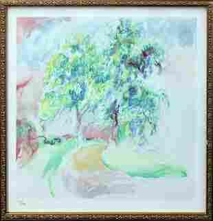 Pierre-Auguste Renoir - Le CheminTournant