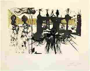 Salvador Dali - La Vida es Suenom Le Portique