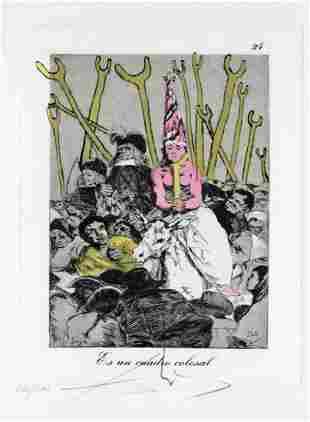 Salvador Dali - Es Un Candro Colosal