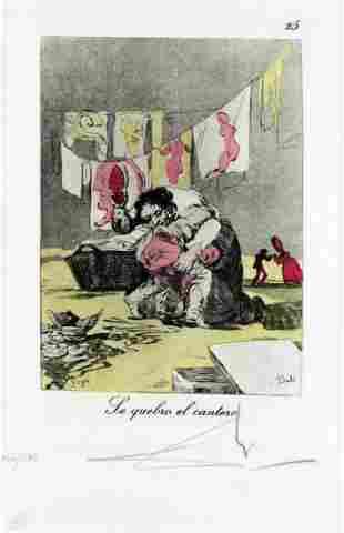 Salvador Dali - Le Quebro el Cantero