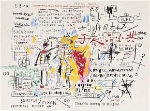 Jean-Michel Basquiat - Boxer Rebellion