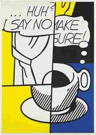 Roy Lichtenstein - Huh?