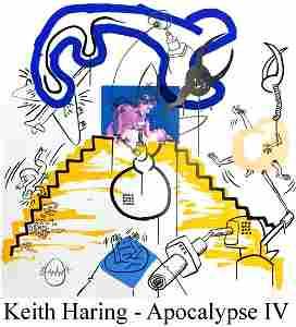 Keith Haring - Apocalypse IV