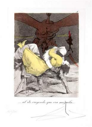 Salvador Dali - ... al rio creyendo que era mozuela