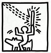 Keith Haring - Untitled (Rider)