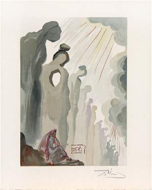 The Second Cornice by Salvador Dali