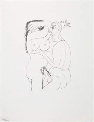 Pablo Picasso - Untitled (8.10.64. XVIII)
