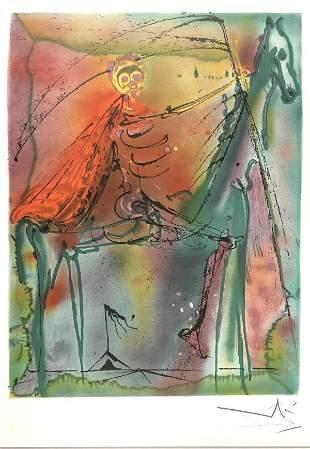 Salvador Dali - Le Cheval De la Mort