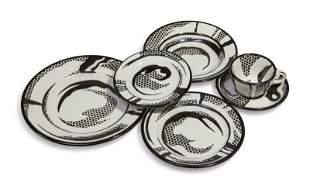 Roy Lichtenstein - Dinnerware: One Setting