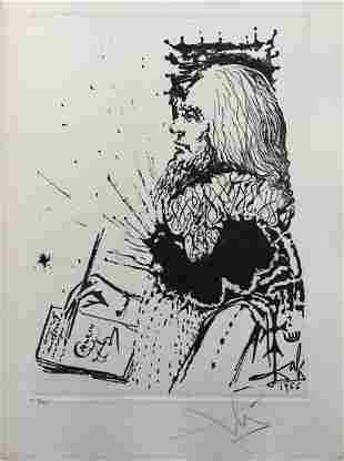 Salvador Dali - Portrait de Calderon