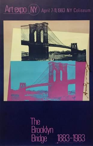 Andy Warhol - The Brooklyn Bridge Poster