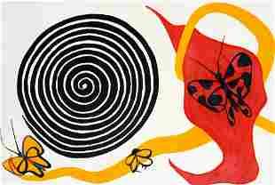 Alexander Calder - Butterflies and Spirals