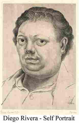 Diego Rivera - Self Portrait