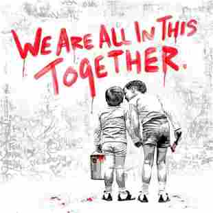 Mr. Brainwash - We Are All In This Together- Red