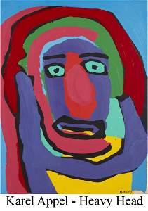 Karel Appel - Heavy Head