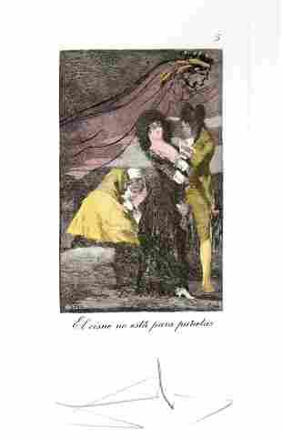 Salvador Dali - El cisne no esta para punetas