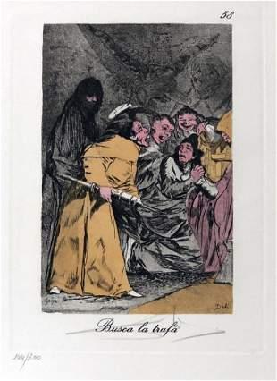 Salvador Dali - Busca la trufa