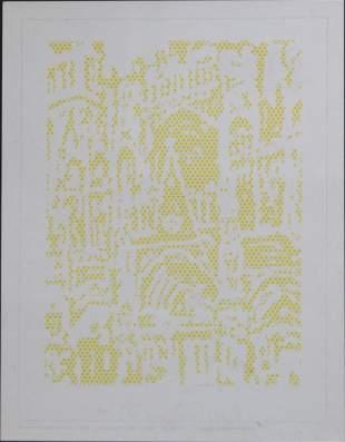 Roy Lichtenstein - Cathedral #1