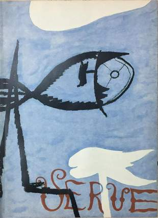 Georges Braque - Verve Cover