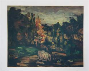 Paul Cezanne - Paysage A Aix
