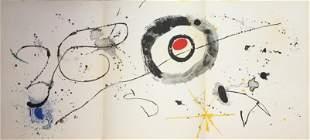 Joan Miro - Composition from Derriere Le Miroir