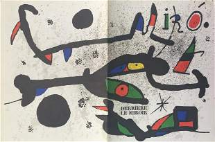 Joan Miro - Cover from Derriere Le Miroir