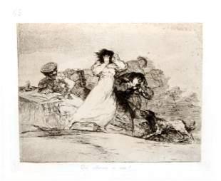 Francisco Goya - No se puede mirar