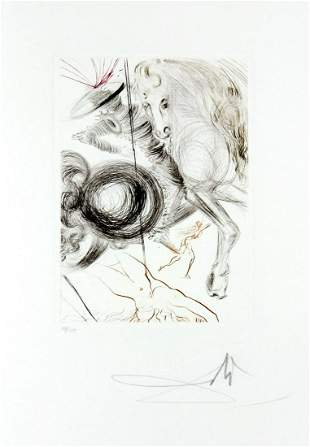 Salvador Dali - L'Enfer des Beutes cruelles